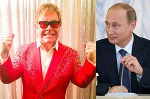 Putin zadzwonił do Eltona Johna! Tym razem NAPRAWDĘ...