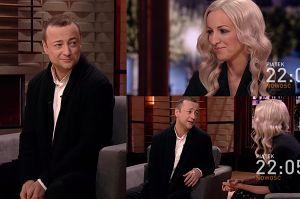"""Mozil komplementuje żonę w telewizji: """"Mam bardzo mądrą i inteligentną kobietę!"""""""