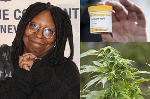 """Whoopi Goldberg chce leczyć bóle menstruacyjne medyczną marihuaną! """"Kobiety stosowały konopie od stuleci"""""""