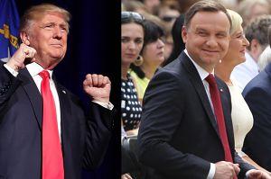 """Kancelaria prezydenta: """"Do spotkania Dudy z Trumpem może dojść wiosną podczas szczytu NATO!"""""""