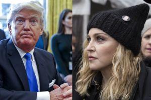 """Trump odpowiada Madonnie: """"JEST ODRAŻAJĄCA. Zaszkodziła całemu ruchowi, który reprezentuje"""""""