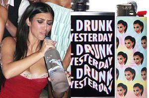 Kim Kardashian sprzedaje... ZAPALNICZKI I PIERSIÓWKI!