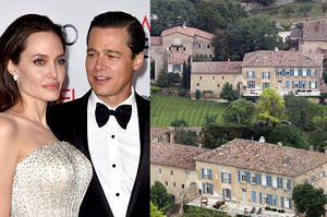 """Angelina i Brad sprzedają zamek! """"To miał być ich raj"""""""