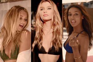 """""""Aniołki"""" Victoria's Secret śpiewają... piosenkę Justina Timberlake'a!"""