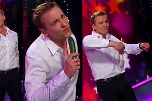 Dziś w Pudelek Show: Radek Liszewski śpiewa przebój Modern Talking... do ogórka!