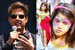 """Tom Cruise nie widział córki od... 1346 dni! """"Nie uwzględnia odwiedzin Suri w kalendarzu"""""""