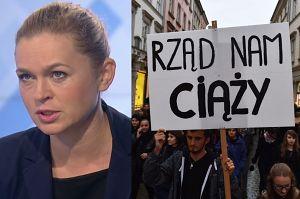 """Nowacka o strajku kobiet: """"Kobiety dowiadują się, że są brzydkie, głupie, złe i mordercze"""""""