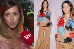 """Wędzikowska poucza: """"Mody nie powinno się oceniać. TO SZTUKA"""""""