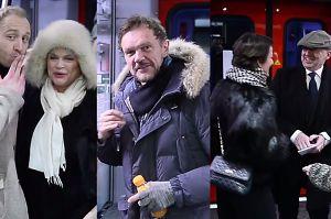 """Linda, Olbrychski, Szyc, Figura i Pazura jadą pociągiem na premierę """"Powidoków"""""""