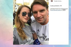 Tomasz i Pola Lis na meczu Realu (FOTO)