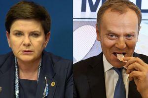 """Szydło: """"Tusk nie jest dobrym przewodniczącym Rady Europejskiej. Nie może uderzać w demokratycznie wybrany rząd"""""""
