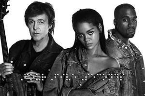 Rihanna nagrała z... Paulem McCartneyem i Kanye Westem! POSŁUCHAJCIE!