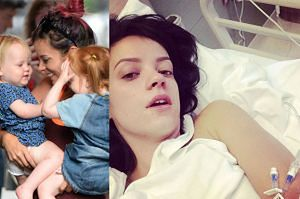 """Lily Allen o poronieniu w 6 miesiącu ciąży: """"Leżałam z martwym synem między nogami przez 10 godzin!"""""""