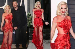 46-letnia Gwen Stefani na gali z Blakem Sheltonem (ZDJĘCIA)