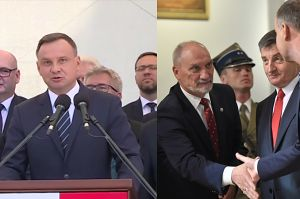 """Duda krytykuje Macierewicza? """"Polska armia to NIE JEST ARMIA PRYWATNA"""""""