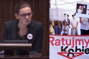 """Tak Nowacka walczyła o projekt liberalizacji aborcji: """"Nie zgodzimy się, by biskup wychodził nam spod łóżka!"""""""