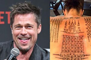 """Brad Pitt chce usunąć WSZYSTKIE TATUAŻE związane z Angeliną! """"Jest gotów na świeży start"""""""