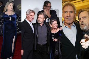 """Han Solo, Leia i Luke na światowej premierze """"Gwiezdnych Wojen""""! (ZDJĘCIA)"""