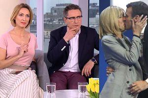 """""""Dzień Dobry TVN"""" pyta: Czego nie wypada kobiecie """"w pewnym wieku""""? W roli głównej Brigitte Macron…"""
