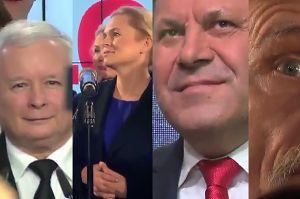 Zobaczcie reakcje w sztabach na wyniki wyborów!