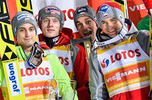 Polscy skoczkowie zdobyli złoto na Mistrzostwach Świata w Lahti!