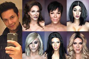 Ten chłopak udowodnił, że KAŻDY może wyglądać jak Kardashianki!