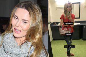 """Hanna Lis pod """"otagowanym"""" zdjęciem Ogórek: """"To za co Aśka Racewicz straciła pracę w TVP?"""""""