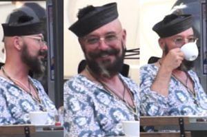 Dziwna czapka Tomka Jacykowa...
