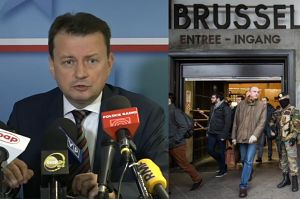 """Błaszczak o uchodźcach: """"Warszawa może wyglądać jak Bruksela, z żołnierzami na ulicach. Nie narażę na to Polaków!"""""""