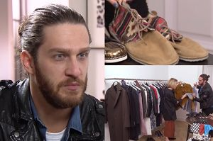 """Szafa Ekskluzywnego Menela w TVN-ie: """"Menel może być elegancki. Uwielbiam podarte jeansy i ramoneski"""""""