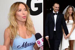 """Chodakowska wspomina ślub: """"Nie marzyłam o białej sukni. Obrączki dostaliśmy od Asi"""""""