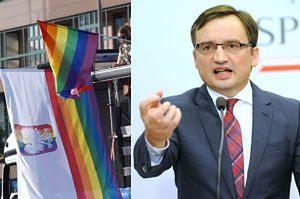 """Ziobro o gejach i lesbijkach w protestach pod Sejmem: """"Chcą przeorać naszą ojczyznę. TO JEST BITWA"""""""