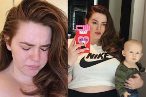 """Modelka XXL """"płacze z wyczerpania"""": """"Tak naprawdę wygląda macierzyństwo!"""""""