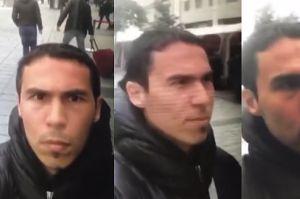 """Turecka policja publikuje """"selfie"""" mordercy ze Stambułu!"""