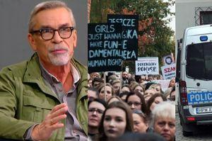 """Nalot policji na organizacje kobiece. Żakowski oburzony: """"To niedopuszczalne w cywilizowanym kraju!"""""""