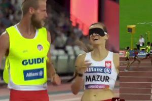 Niewidoma Polka zdobyła złoty medal na lekkoatletycznych MŚ w Londynie! (WIDEO)