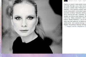 """Korwin-Piotrowska składa życzenia Cieleckiej: """"Ma talent, osobowość, wielką prawdę"""""""