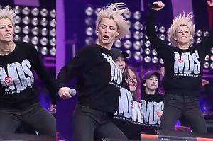 Mandaryna tańczy na finale WOŚP