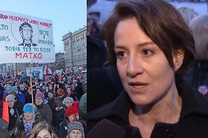 """Ostaszewska o protestach Polek: """"Manifestujemy naszą godność. Nie zgodzimy się, żeby była deptana!"""""""
