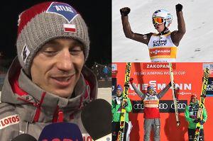 """Kamil Stoch: """"To był wspaniały weekend, piękny dla nas!"""""""
