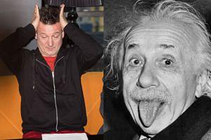 Robert Więckiewicz zagra... Einsteina!