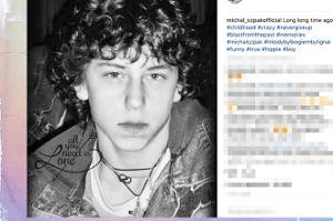 Michał Szpak pokazał zdjęcie sprzed lat