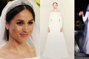 Suknia ślubna Meghan Markle to plagiat? Do sieci trafiło oświadczenie!