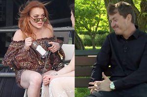 """Harasimowicz wspomina współpracę z Lohan: """"Czasem była dyspozycyjna w pracy"""""""