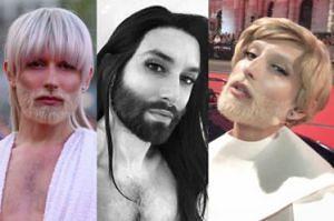 Conchita Wurst PRZEFARBOWAŁA SIĘ NA BLOND! (ZDJĘCIA)