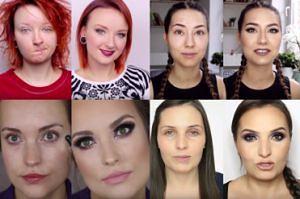 Polskie YouTuberki bez makijażu!