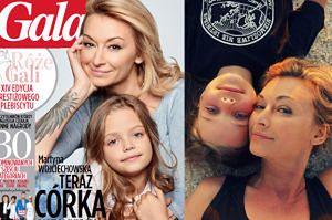 """Wojciechowska o byciu mamą: """"Miłość to uczucie, którego nie znałam przed urodzeniem Marysi"""""""