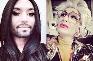 Conchita Wurst zgoliła brodę na Halloween! Poznajecie?