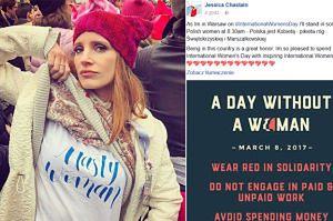 """Jessica Chastain weźmie udział w polskim Strajku Kobiet! """"Solidaryzuję się z polskimi kobietami"""""""