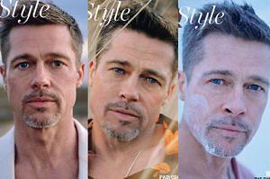 """Brad Pitt na trzech okładkach """"GQ""""! """"On zaczyna wszystko na nowo"""" (FOTO)"""